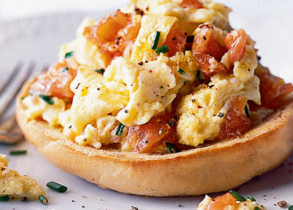 Ultimate smoked salmon & scrambled egg image