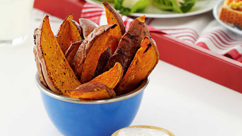 Sweet potato wedge image