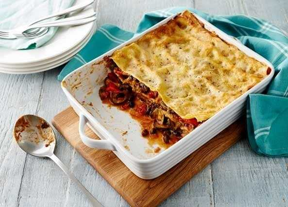 Summer vegetable lasagn image