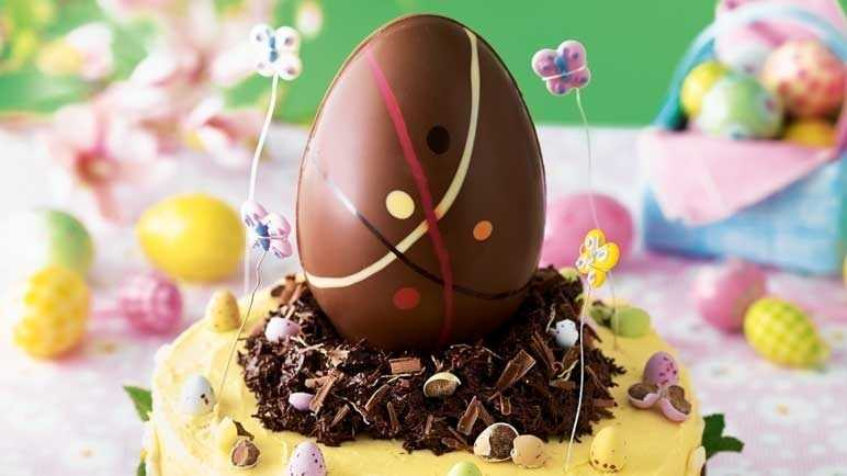 The ultimate easter chocolate cake image
