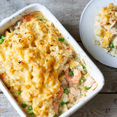 Image: Fish pie with a celeriac crust