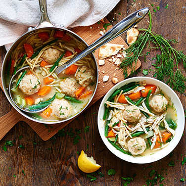 Image: Chicken noodle soup