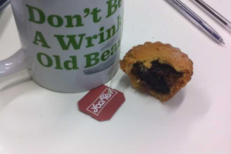 First mince pie of the season! image