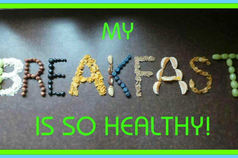 The benefits of a healthy breakfast doesn't really need spelling out to me!  image