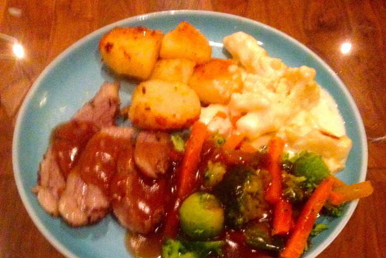 Easter Sunday roast with Bisto gravy image