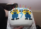 Sons 7th Birthday Cake