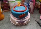 "My daughters ""Doc McStuffins"" cake"