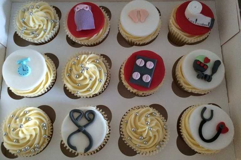 Trainee midwife cakes image