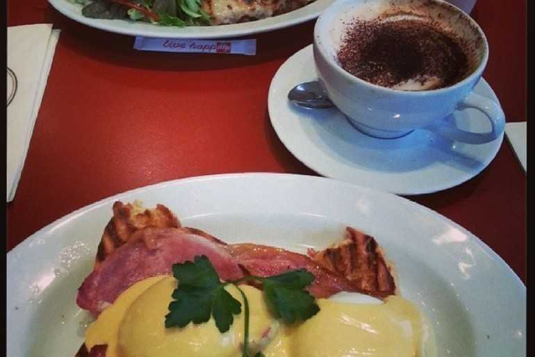 Eggs Benedict win! image