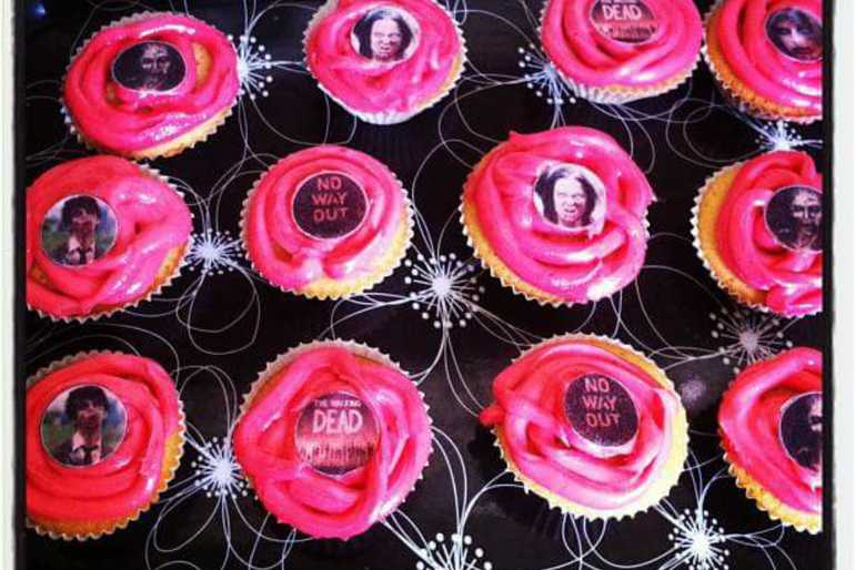 Walking dead cupcakes  image