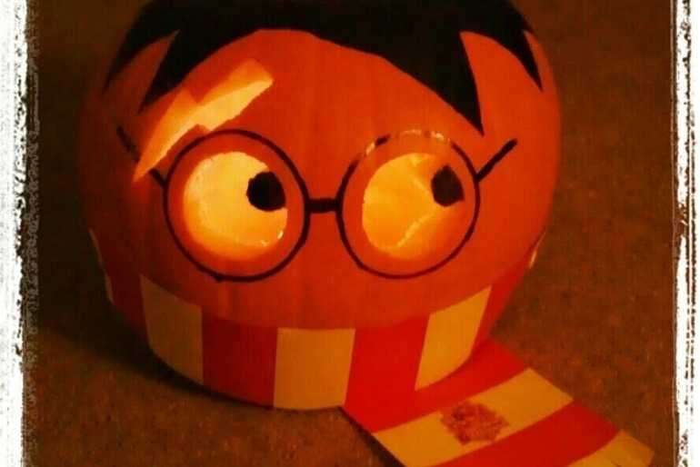 Harry Potter pumpkin image