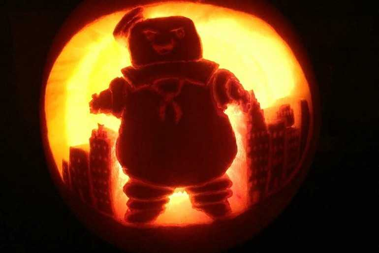 Evil Stay Puft Marshmallow Man image