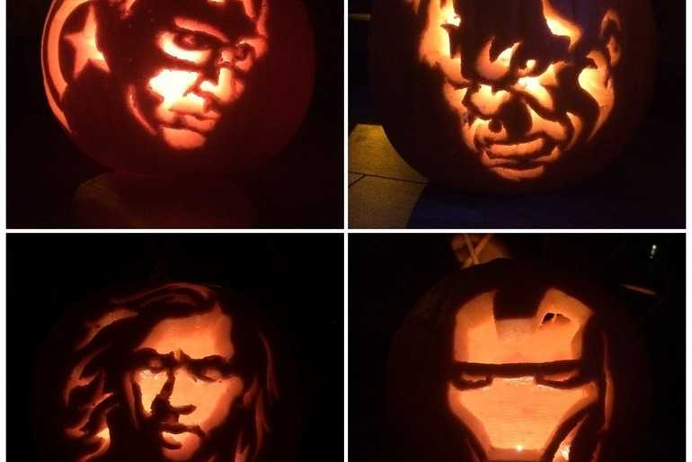 Pumkins Assemble. (The Avengers)  image