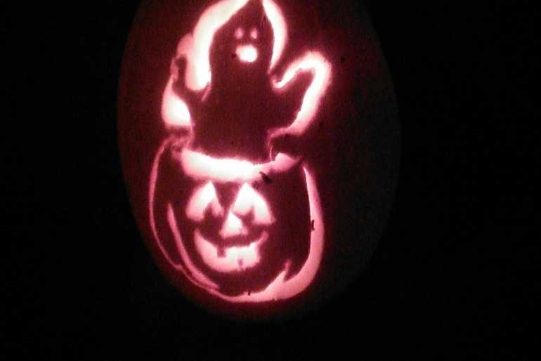 Ghost in the Pumpkin image