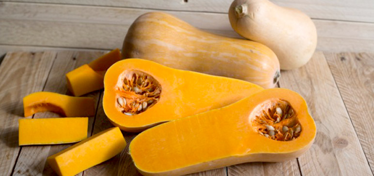 How to prepare butternut squash with Sally.