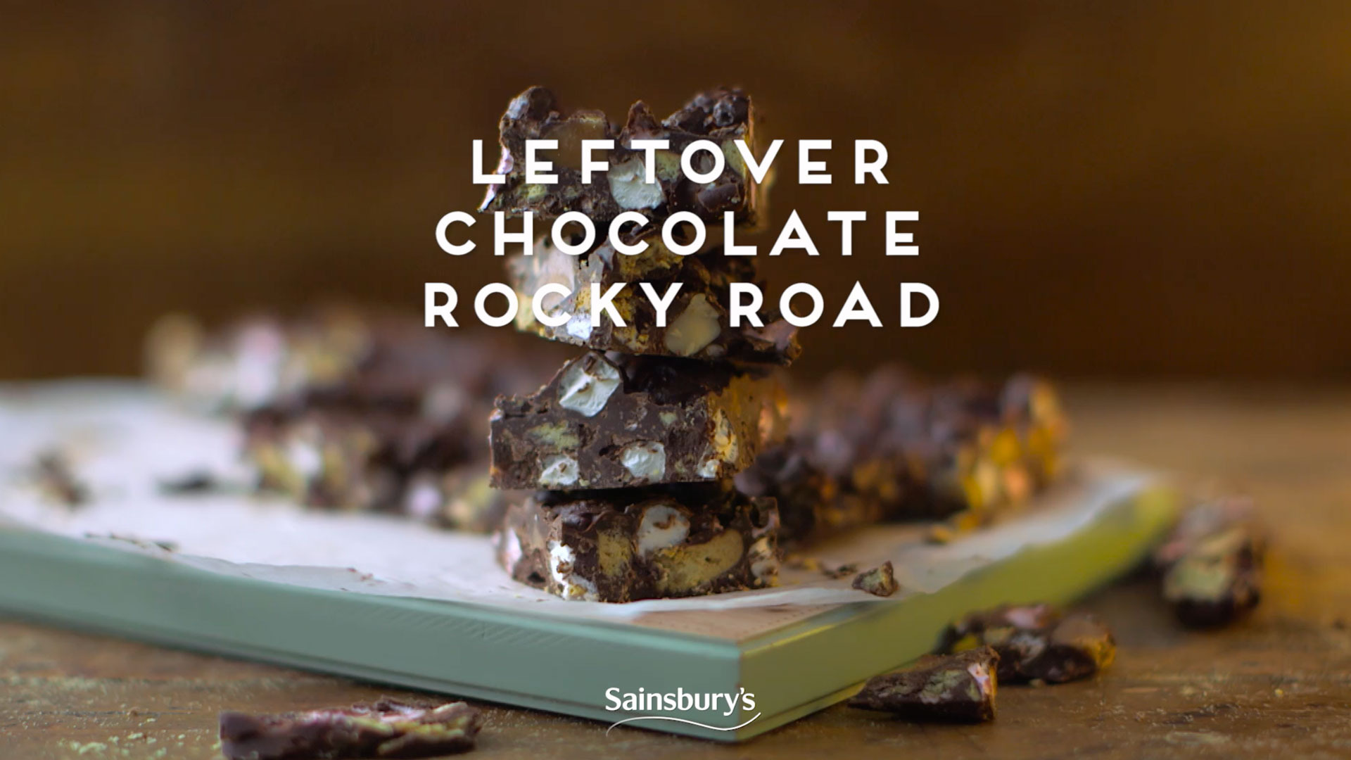 Leftover Chocolate Rocky Road