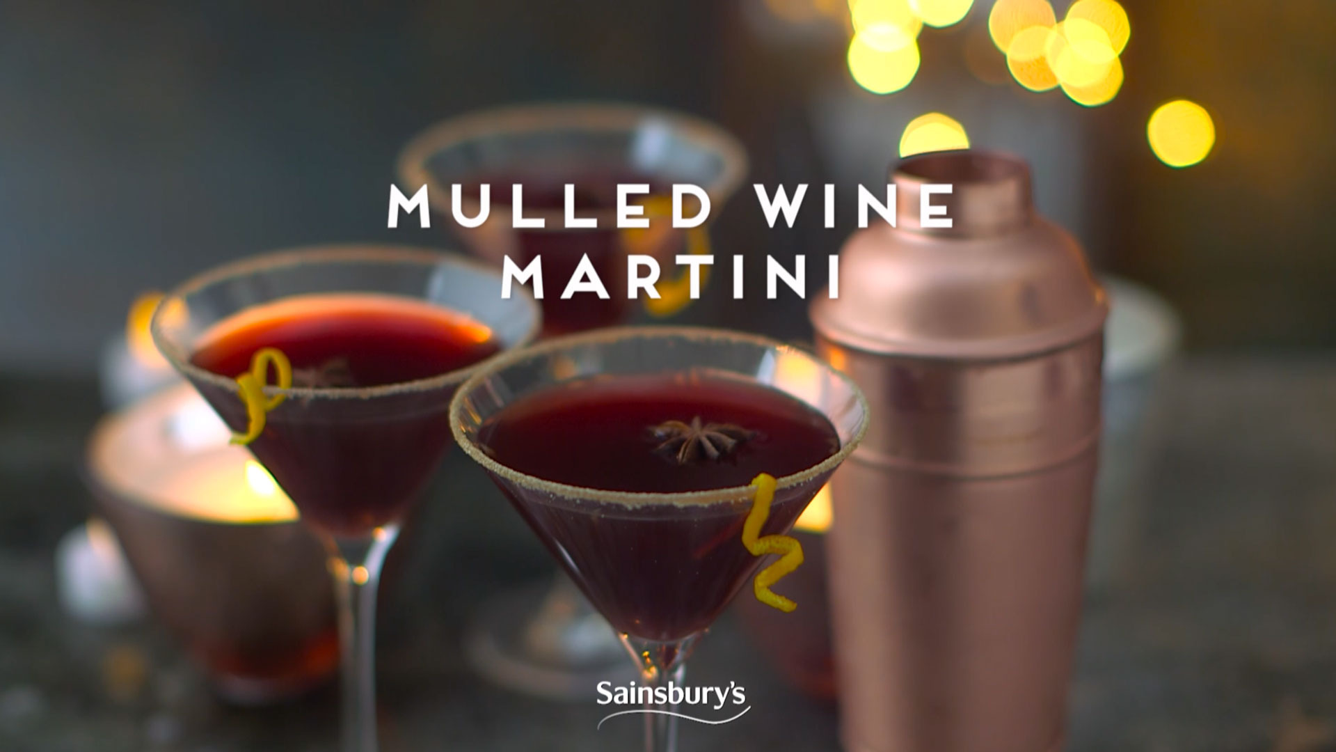 Mulled Wine Martini