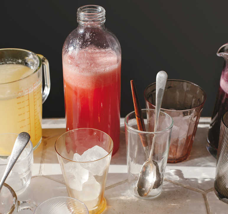 Anna Jones' watermelon lemonade